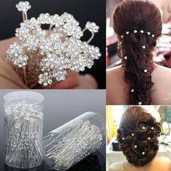 шпильки для волос с украшениями фото