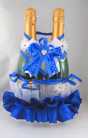 синяя свадьба украшения фото