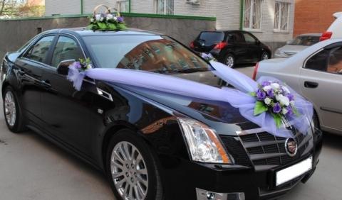 сиренево-фиолетовый комплект на машину фото