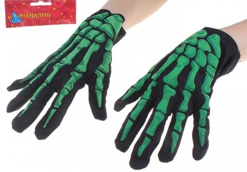 скелет перчатки, перчатки скелета