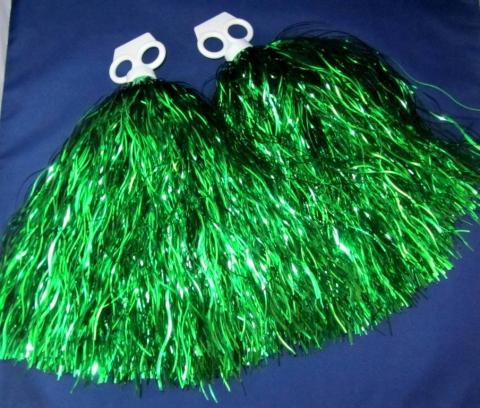 помпоны для черлидинга зеленые фото