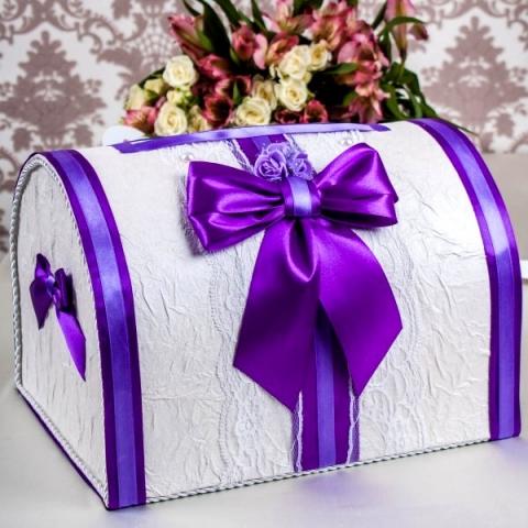 сундучок фиолетовый купить