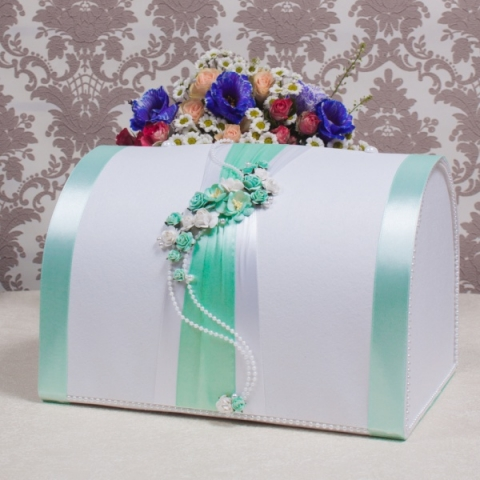 коробка для денег тиффани фото