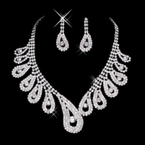 ожерель и серьги на свадьбу фото