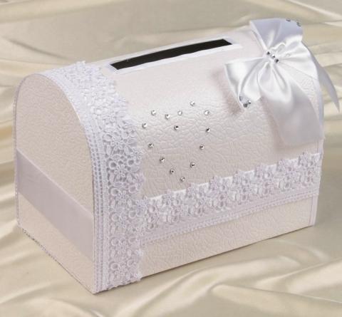 белый сундучок на свадьбу купить