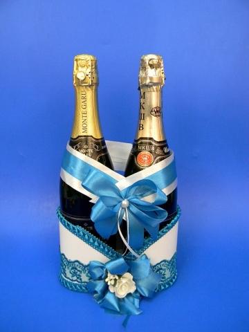 свадебная корзинка на шампанское купить