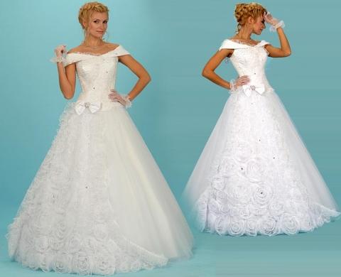 дешевое свадебное платье