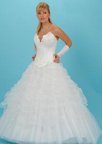 пышное пышное свадебное платье