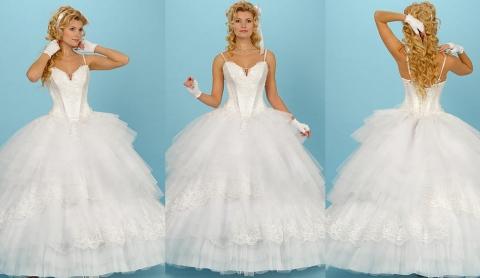 пышное пышное свадебное платье, платья свадебные недорогие