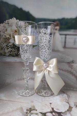 суперские свадебные бокалы продам сегодня 11:42