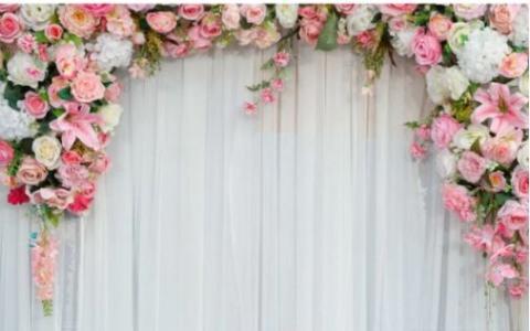 свадебная фотостена цветочная продажа фото