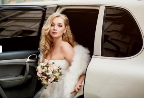 палантин пуховый на свадьбу