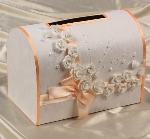 персиковая свадебная казна фото