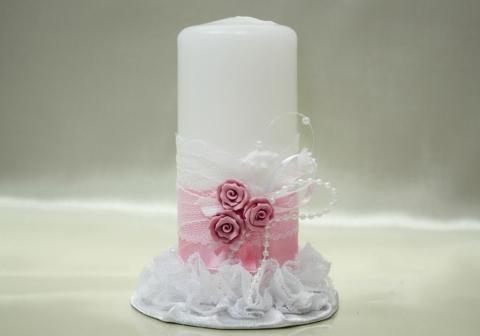 свеча домашний очаг свадебная