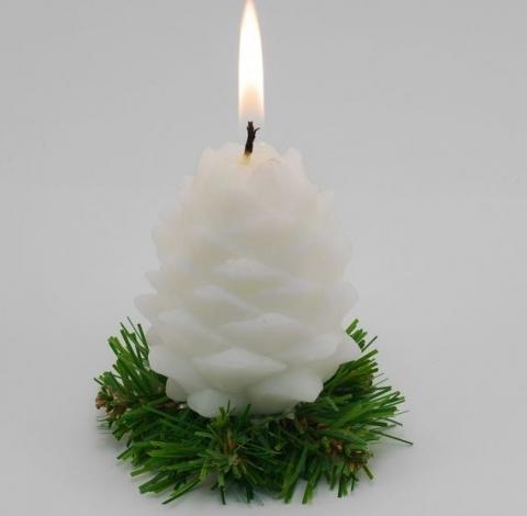 свечи шишки фото