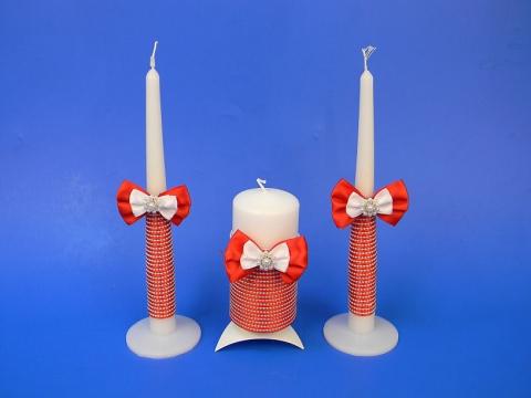 свечи очаг красные фото