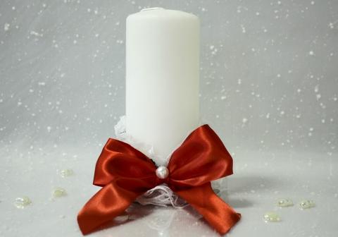свеча домашний очаг ретро
