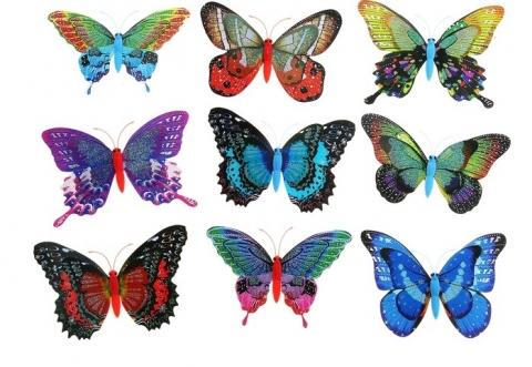 бабочки на машину