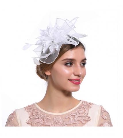 вуалетка свадебная белая