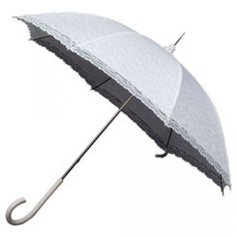 белый зонт непромокаемый