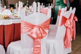 банты на стулья на свадьбу купить