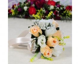 букет дублериз чайных роз фото