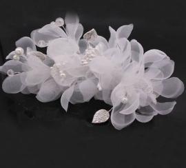 """Цветок из органзы """"Вероника"""" 100201"""