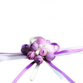 сиреенво-фиолетовые веты на уку подружкам фото