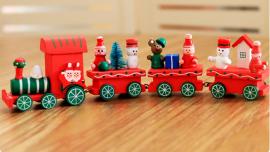 деревянные игрушки на елку купить