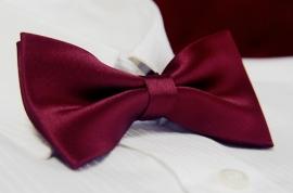 галстук бабочка бордовый купить