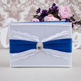 синие свадебные аксессуары купить