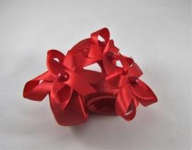кольцо на салфетки красное фото
