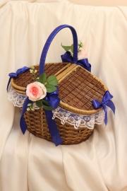 свадебная корзина для пикника фото