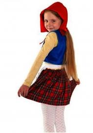 костюм красной шапочки для девочки 7 лет