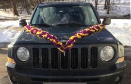 Лента на машину фиолетовый-желтый-фиолетовый  3м, ширина 10см. 3 слоя 002624