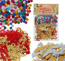 свадебное конфетти купить набор