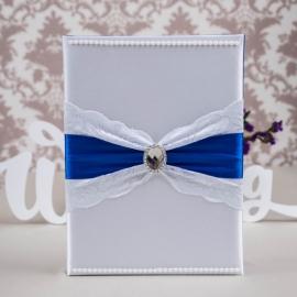 папка для свидетельства о браке синяя купить