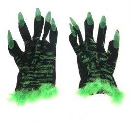 перчатки с когтями, перчатки вепря, перчатки ведьмы
