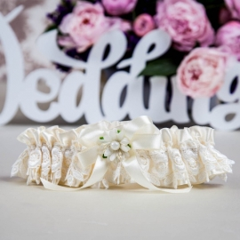 подвязка невесты айвори купить