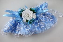 подвязка голубая для невесты купить