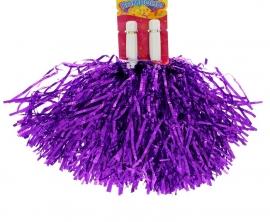 помпоны для черлидинга фиолетовые купить