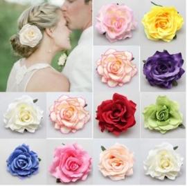 Роза для украшения свадебной прически 100137