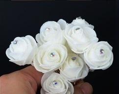 шпильки цветы из фоамирана фото