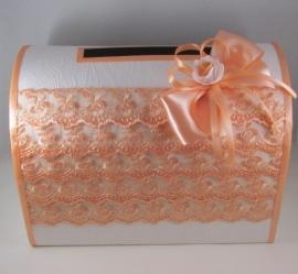 сундучок для денег персиковый купить