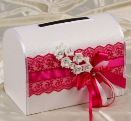 фуксия свадебные украшения купить