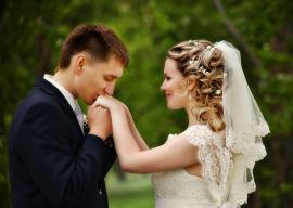Свадебная фата с великолепным кружевом шантильи, молочный цвет, 2 яруса, гребень 001597
