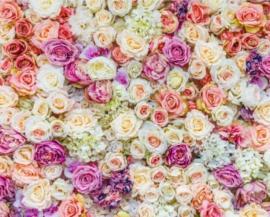 фотозона на свадьбу с сиреневыми розами продажа