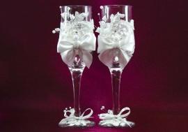 свадебные бокалы картинки