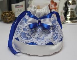 """Свадебные сумочки для невесты: синяя свадьба """"Строгость"""" 002859"""