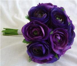 фиолетовый букет дублер фото